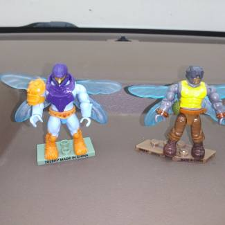 Image of: Wasp Warrior and Buzz Bee