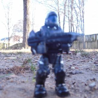 Image of: a custom halo 2/3 odst