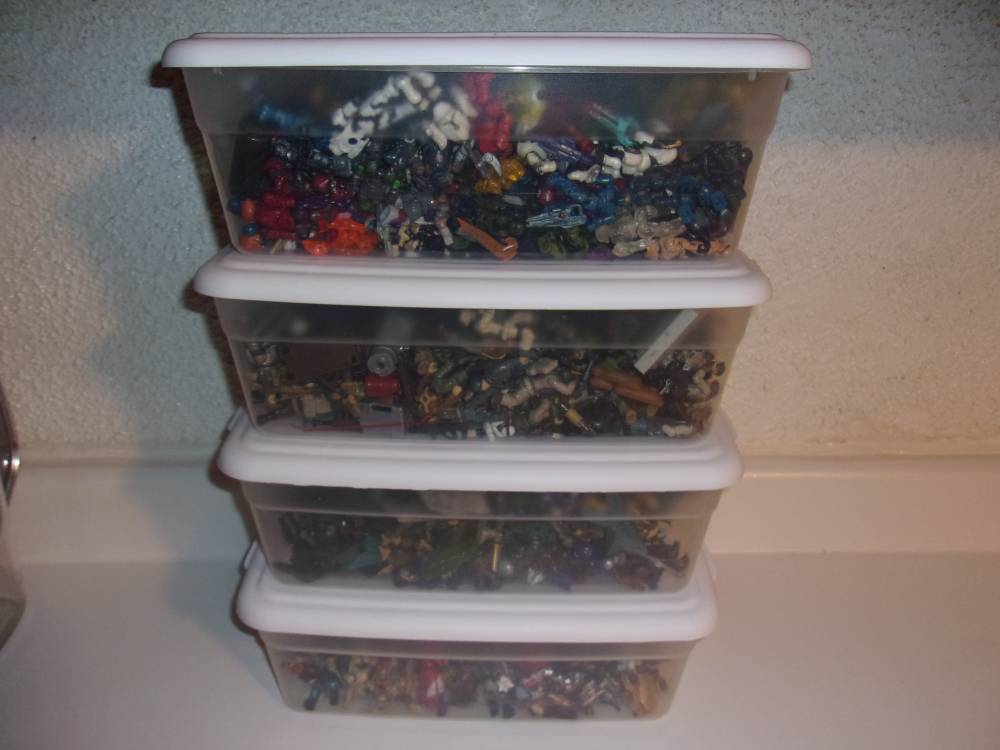 Collection Close Up: Totes Full of Figures . . .