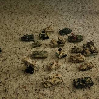 Image of: @WhoThCares here's all my micro land machines