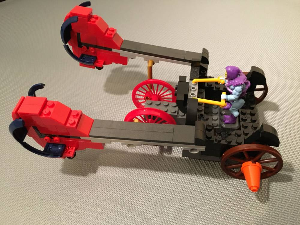 Image of: Battle Ram Chariot (2002 Masters of the Universe)