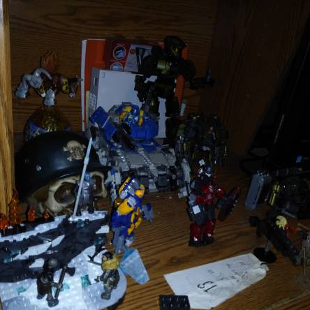 Collection of Mega Construx/Bloks sets
