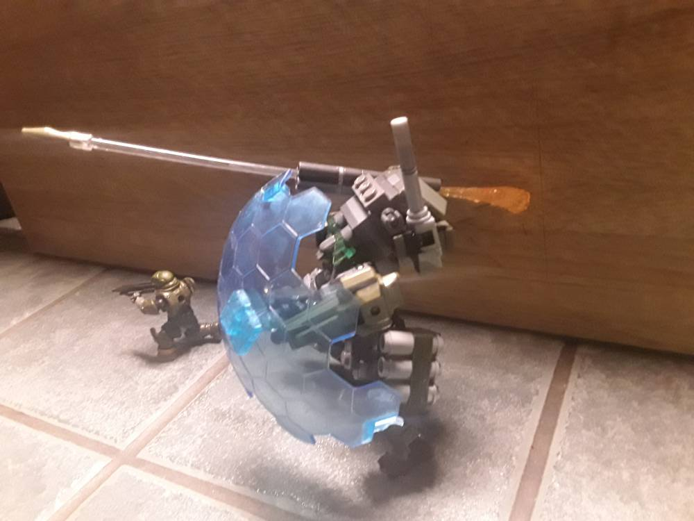 Image of: Upgraded Halo prototype