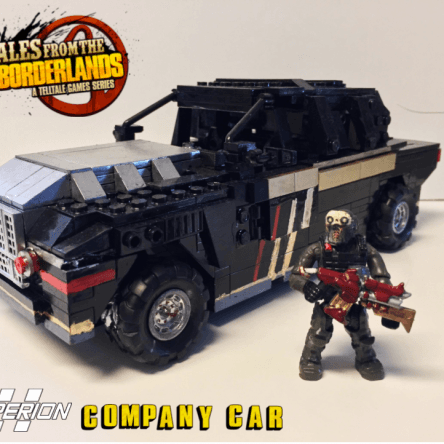 Tales From The Borderlands Company Car!