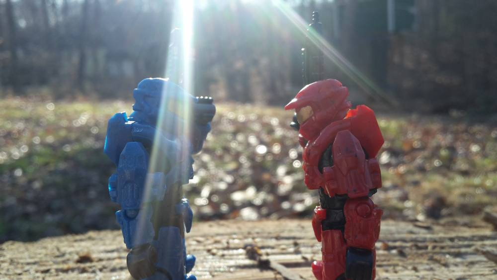 Red vs blue who will win? You choose