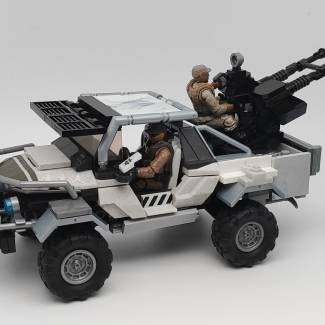 Image of: Warthog Armed pickup