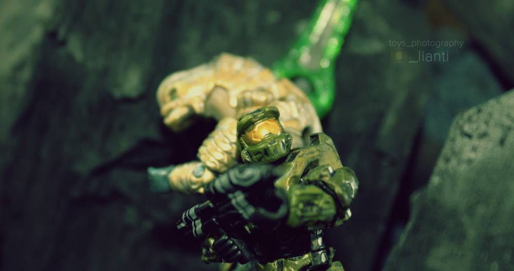 Image of: Master Chief And Arbiter