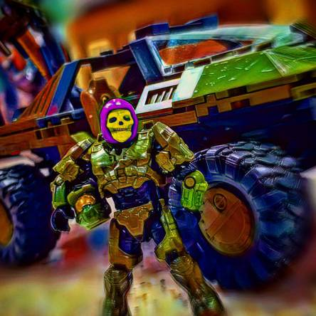 Halo skeletor