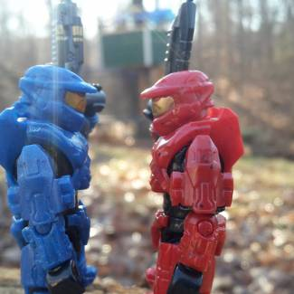 Image of: Red vs blue winner!