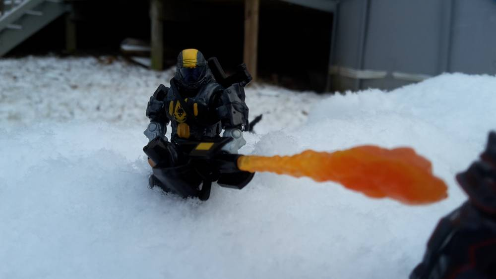 Image of: ODST in the snow