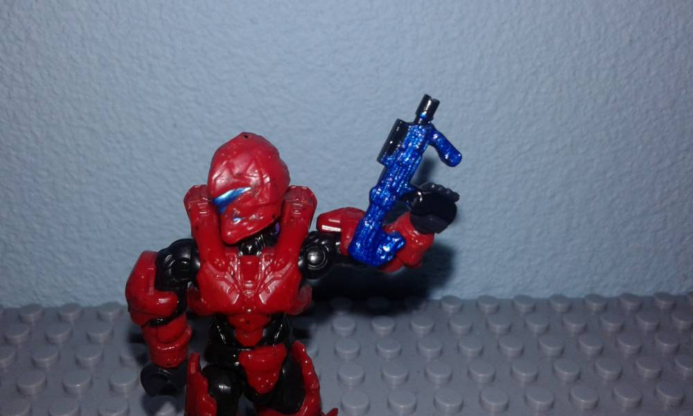 Image of: Halo 2 SMG golden tribute, SMG blue metallic and more
