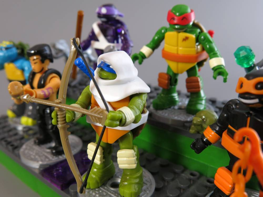 Image of: TMNT Blind packs series 2