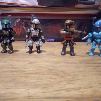 Image of: Mandalorian team