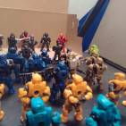 Image of: Darth skelator and his army of clone spartans