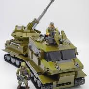 All-Terrain Tracked Vehicles & Automatic artillery