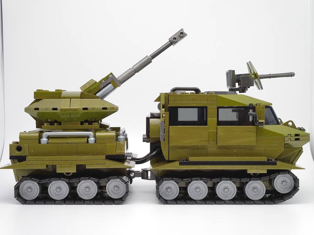 Image of: All-Terrain Tracked Vehicles & Automatic artillery