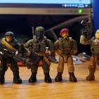 Image of: Customs made with recent haul. Plus one work in progress