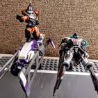 Image of: Trick riders