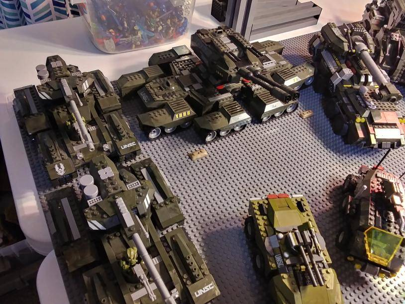 Image of: Current UNSC Vehicle army