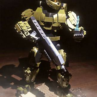 "Image of: 9.5"" Inch Pro Builders Master Chief!!"