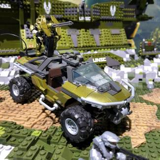 Image of: Live from NY Toy Fair: Halo Warthog