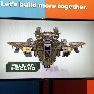 Image of: Live from NY Toy Fair: Inside the Pelican!