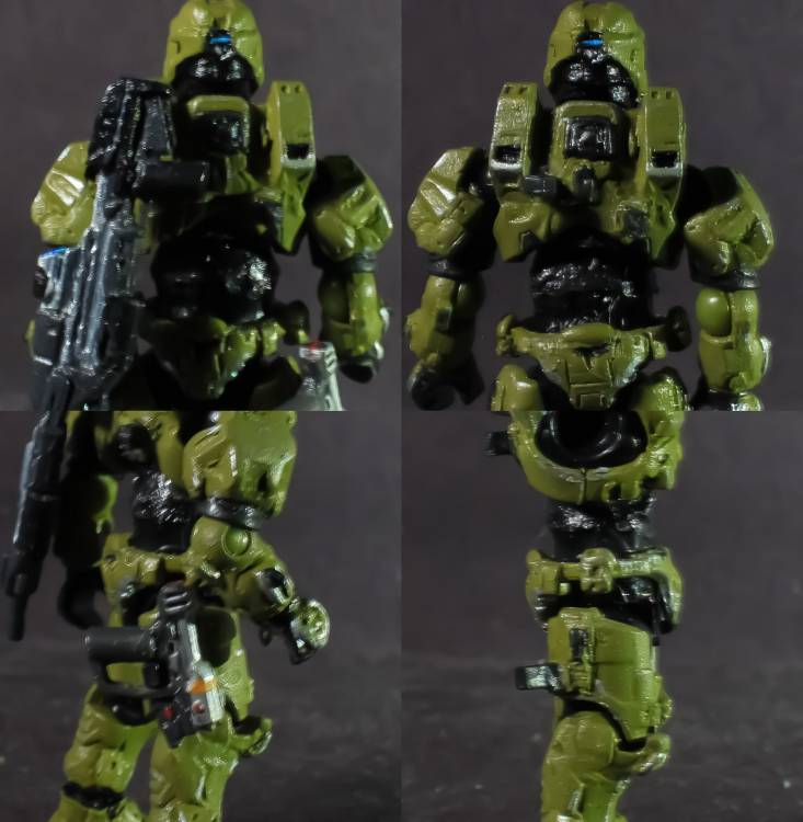 Image of: Halo infinite máster chief (mega articulated)