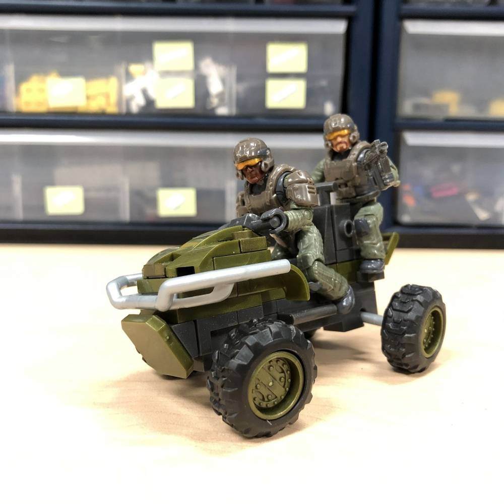Image of: Closer Look at the UNSC Mongoose