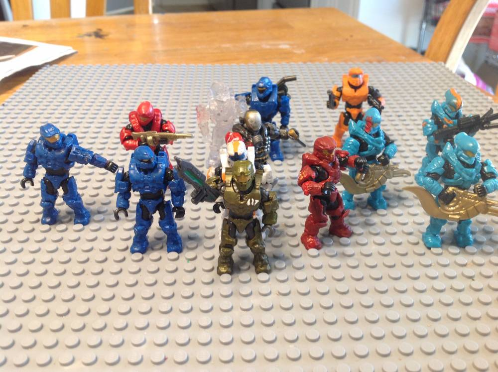 Image of: All my catogories( though most of it is Halo)
