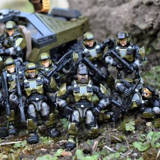 Image of: Custom Halo 3 Marines