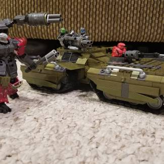 Image of: Tanks for the memories