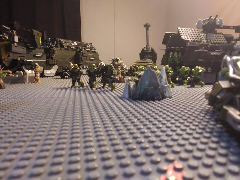 Image of: Back Lines Deploying Reinforcements