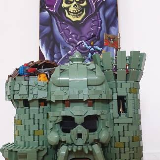 Image of: Skeletor gets a power boost