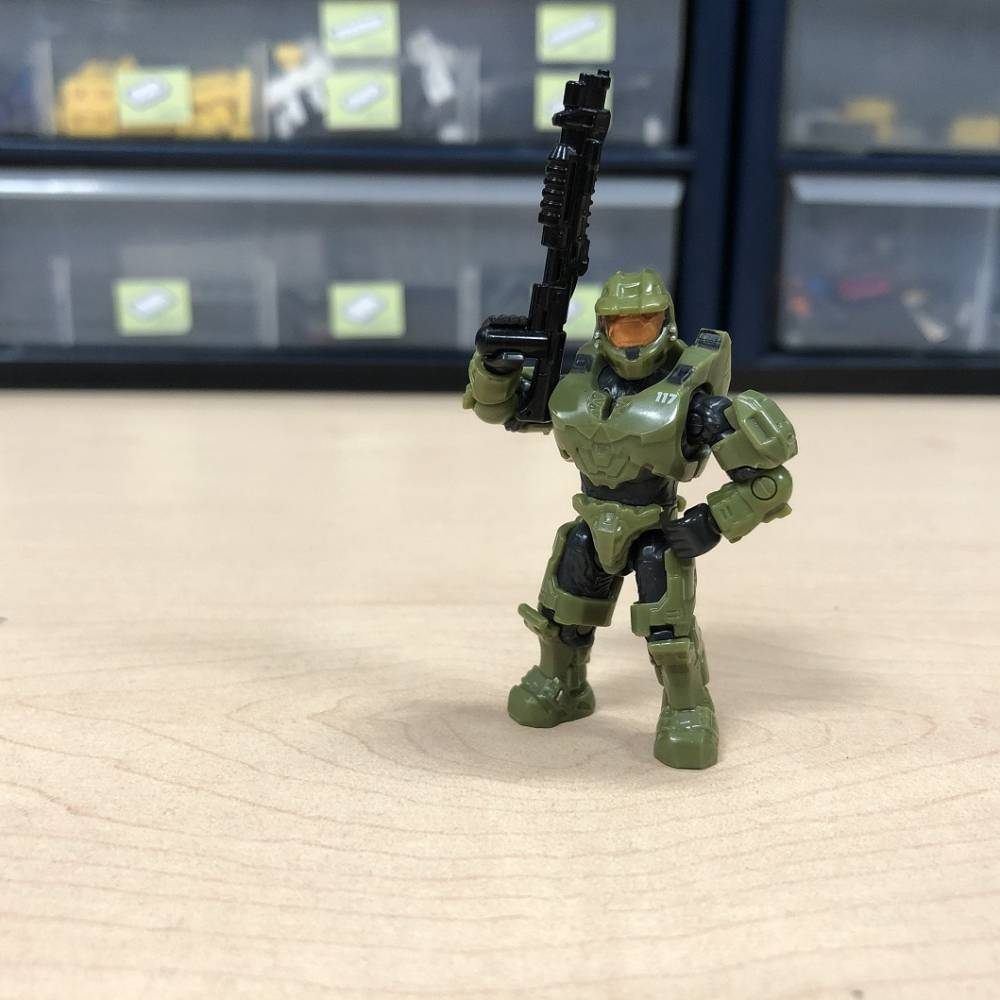 Image of: Closer Look: New Master Chief (Warthog Version)!