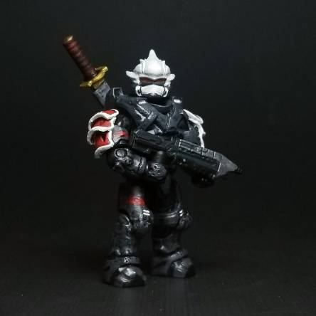 My Custom Halo 3 Hayabusa MCX Figure