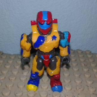 Image of: Autism Spartan skin ( Exclusive figure i will sell too)