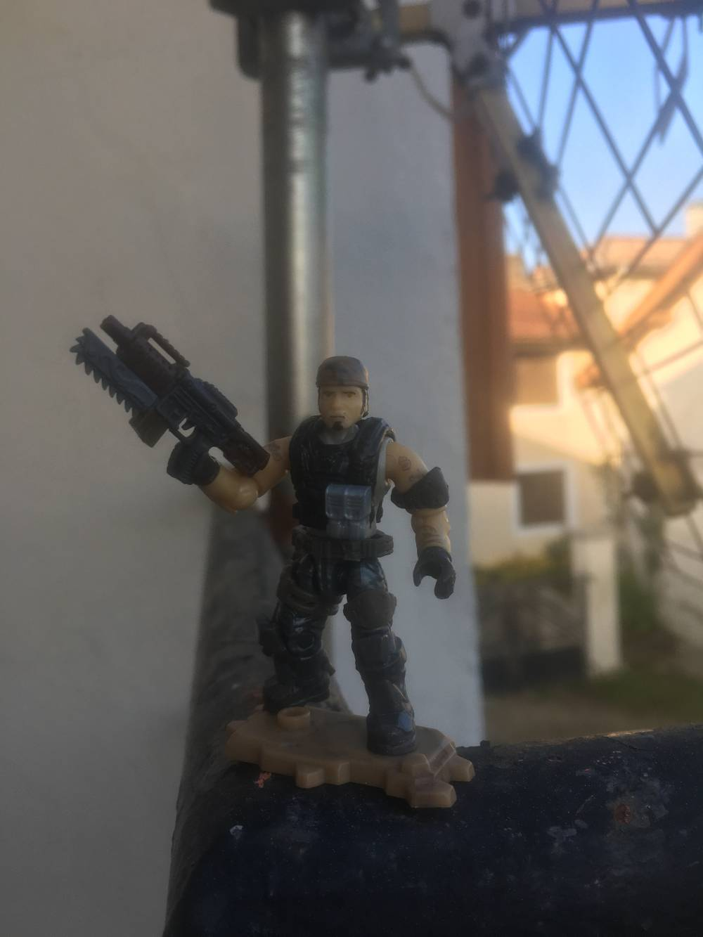 Test for Marcus Fenix «Gears of war»before sculpting and painting