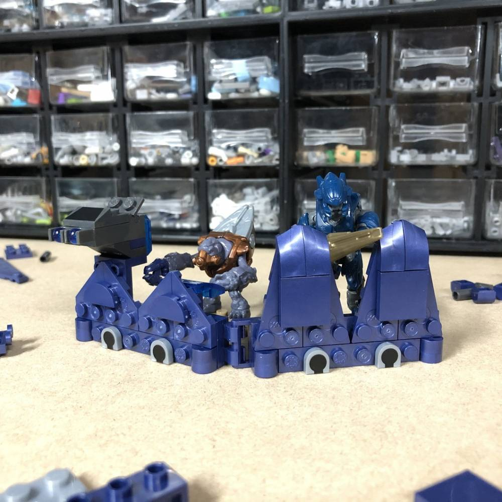 Mega at Home Building Idea #2: Covenant Command Post!