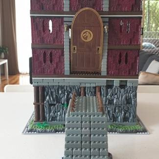 Image of: Skeletor's Stronghold version 2 part 1