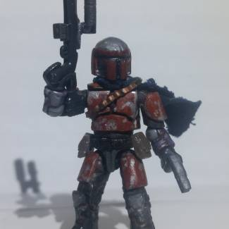 Image of: Custom Mandalorian