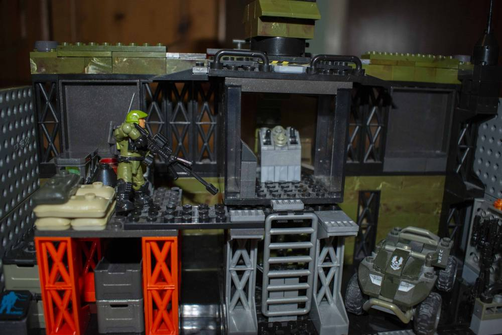 Image of: Sunday Build Day: UNSC Anti-Air FOB