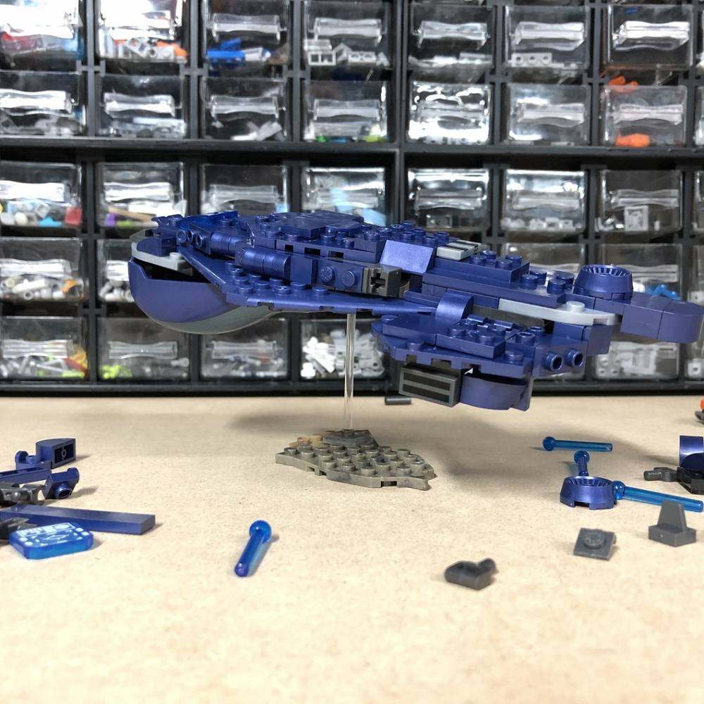 Image of: Mega at Home Building Idea #3: Micro-Fleet Covenant Carrier!