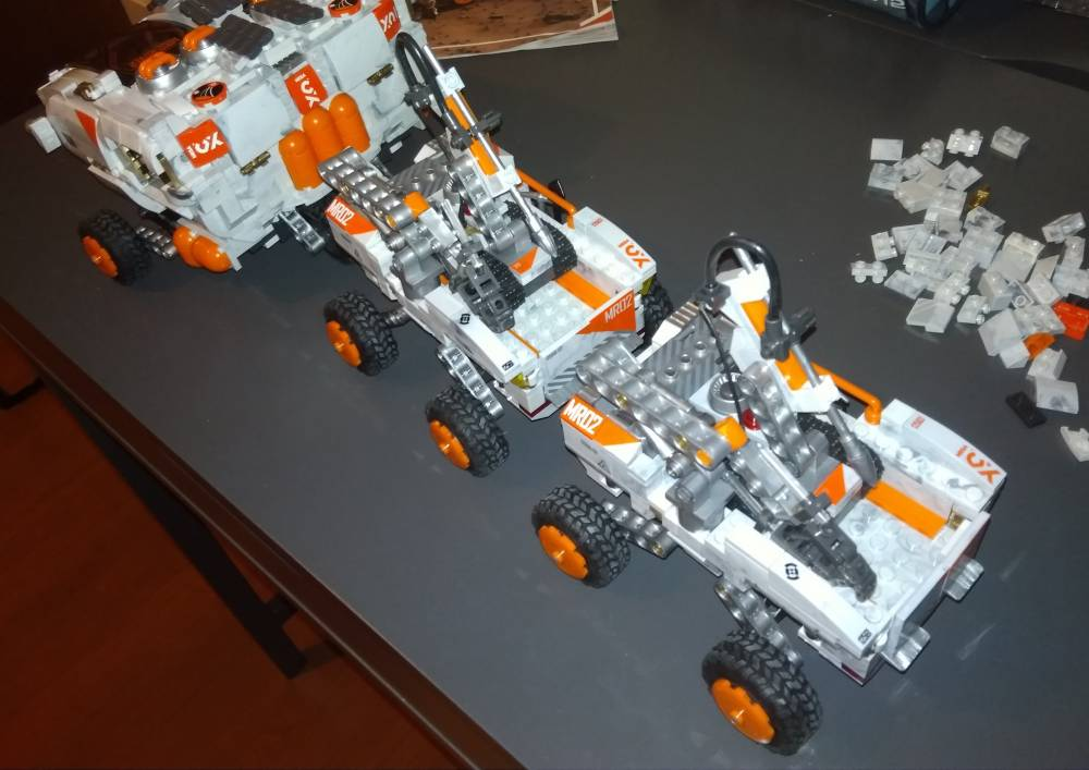 Mars rover- ultimate edition