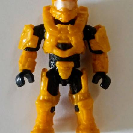 Image of: Repainted Yellow Spartan
