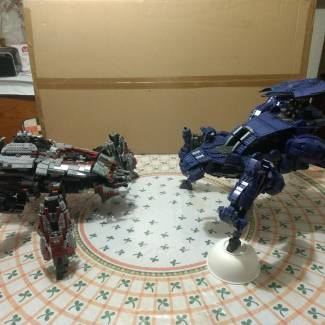 Image of: halo mega construx scarab halo 3 vs halo wars 2 scarab