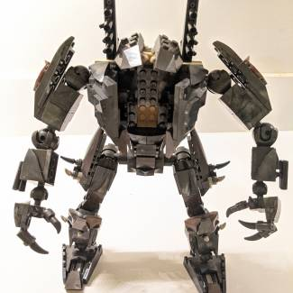 Image of: Mega at Home: Dark Battle Armor Tutorial