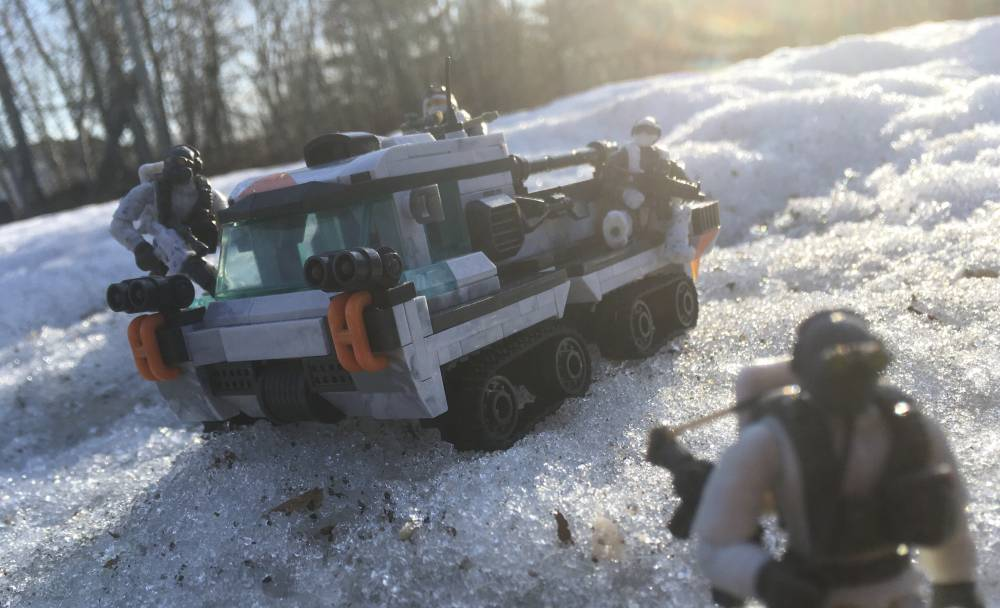 """Image of: Arctic """"Weasel"""" Tracked Vehicle"""