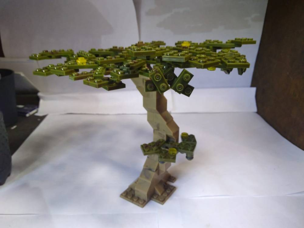 Green block tree