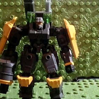 Image of: Custom Painted Halo Legends mech...