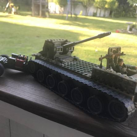 My version of the my first tank ever made